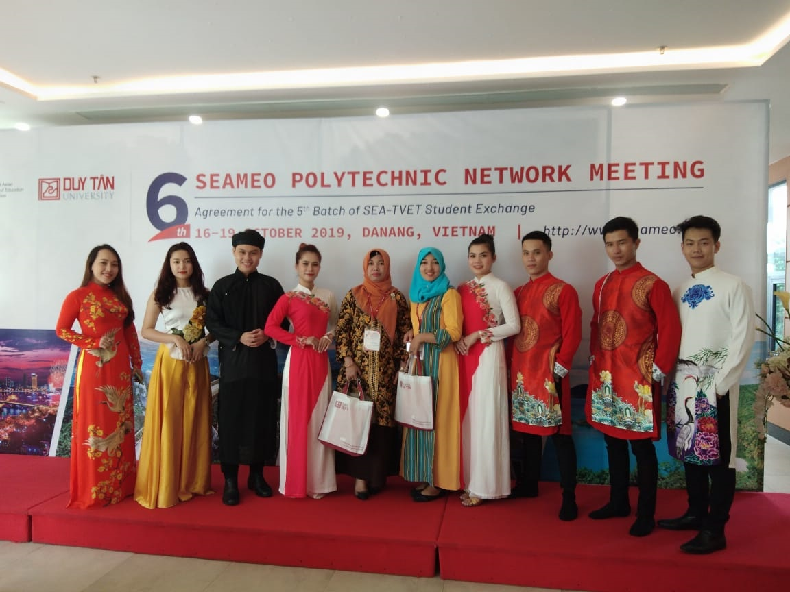 Kegiatan Seameo Polytechnic Network Meeting di Vietnam