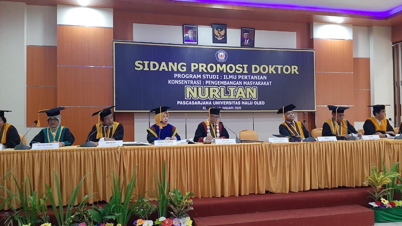 Penguji Sidang Promosi Doktor
